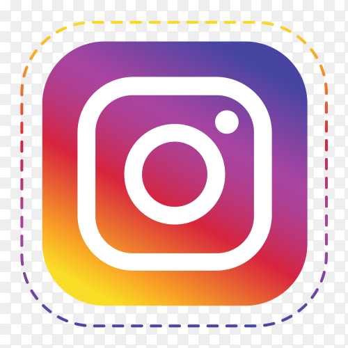 Logo Instagram royalty free PNG