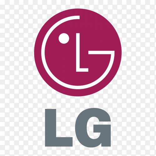 Logo LG clipart PNG