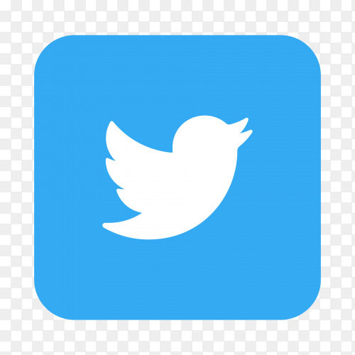 Logo Twitter icon transparent PNG