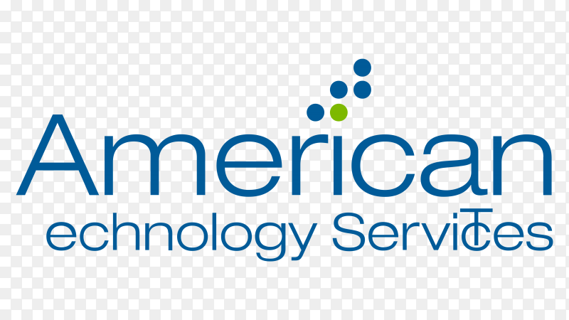 Logo american technology services ats transparent PNG
