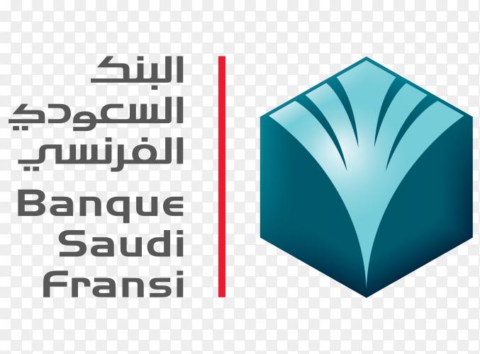 Logo banque saudi fransi download free PNG