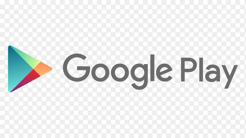 Logo google play transparent background PNG