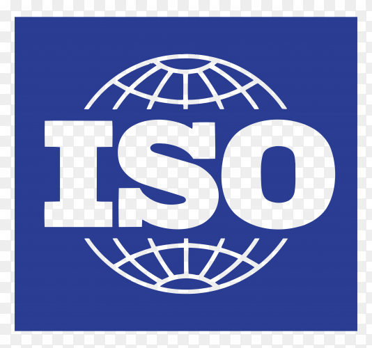Logo iso 9001 vector PNG