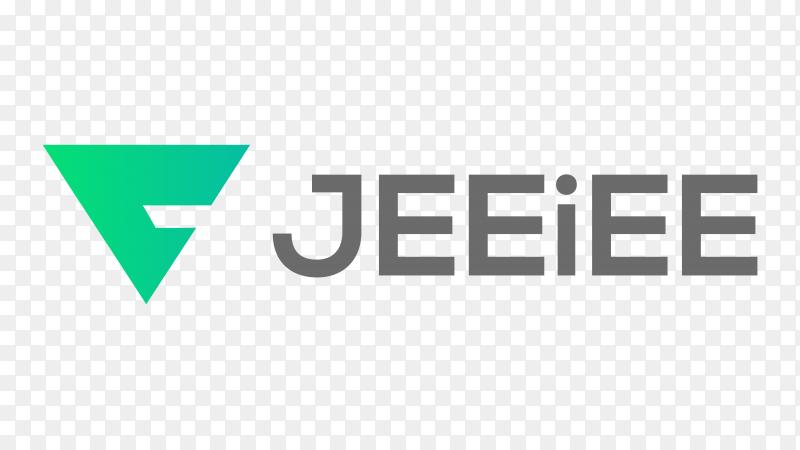 Logo jeeiee premium clipart PNG