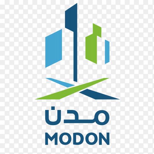 Logo modon new vector PNG