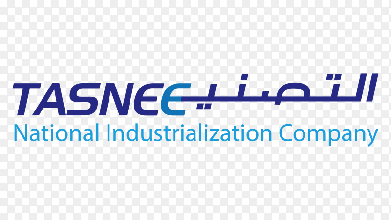 Logo national industrialization company tasnee transparent PNG