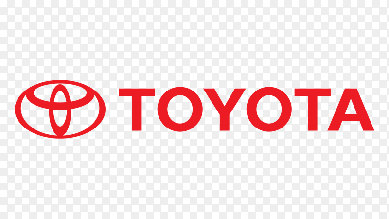 Logo toyota vector PNG