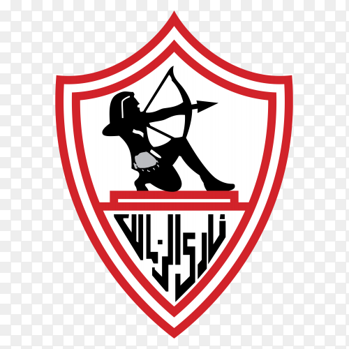 Logo zamalek club clipart PNG
