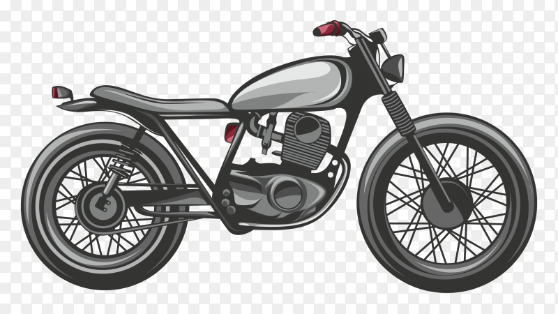 Motorcycle vector download free PNG