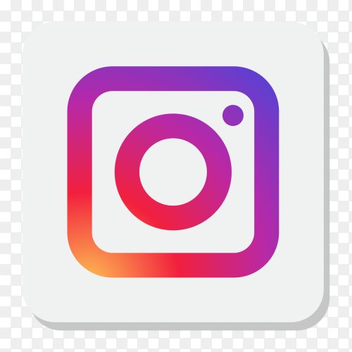 Popular Instagram icon transparent PNG