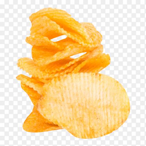 Potato chips transparent PNG