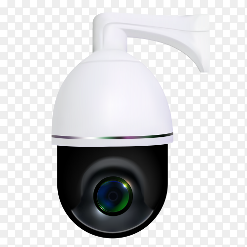 Realistic security camera clipart PNG