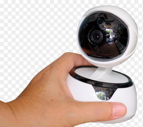 Robot cctv wifi security camera transparent PNG