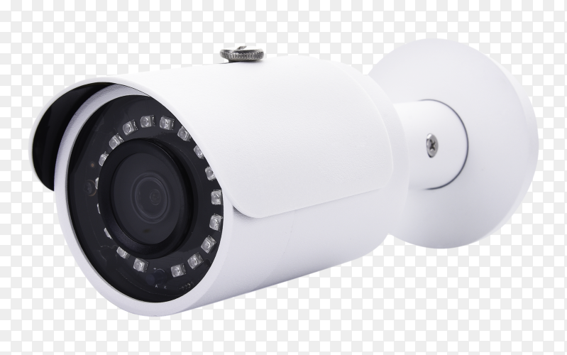 Security camera cctv royalty free PNG