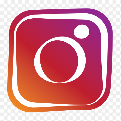Simple logo Instagram clipart PNG