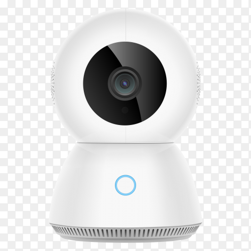 Smart security camera transparent PNG