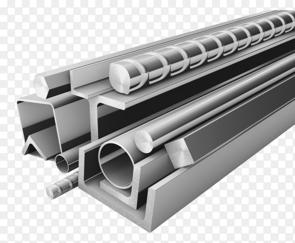 Steel – iron products for construction image PNG