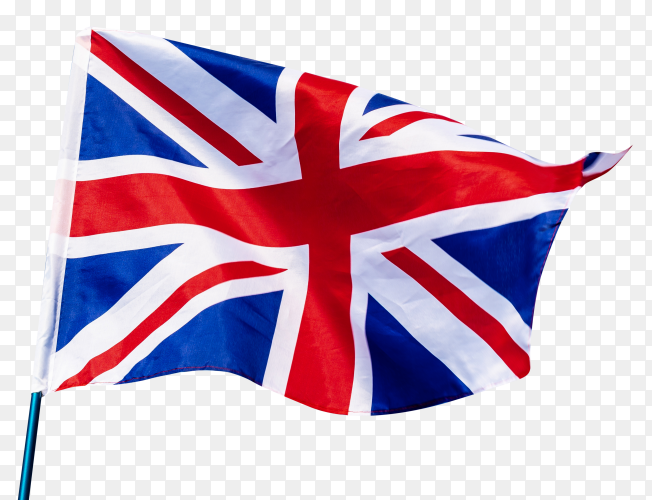United kingdom flag waving free download PNG
