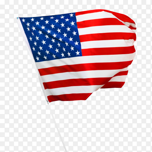 United states of america flag – american flag transparent PNG