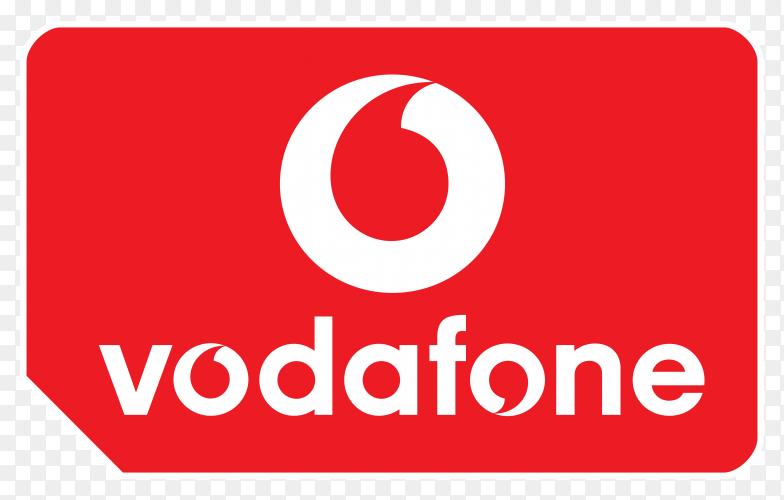 Vodafone logo vector PNG