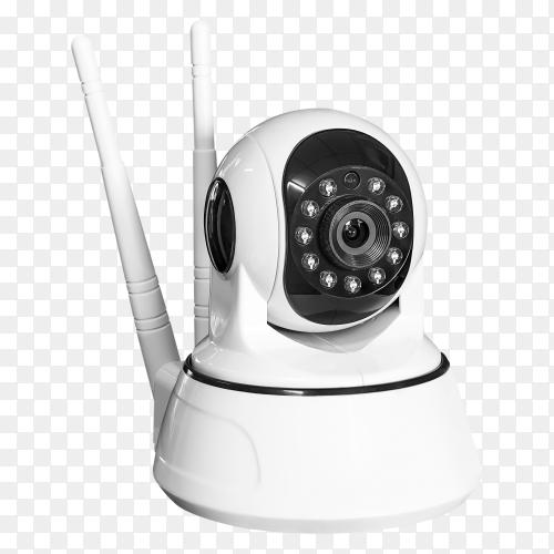 Wireless security camera transparent PNG
