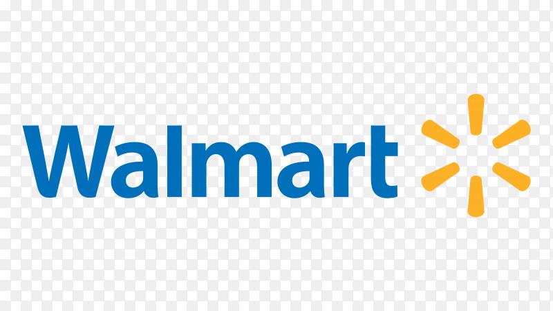 Logo walmart vector PNG