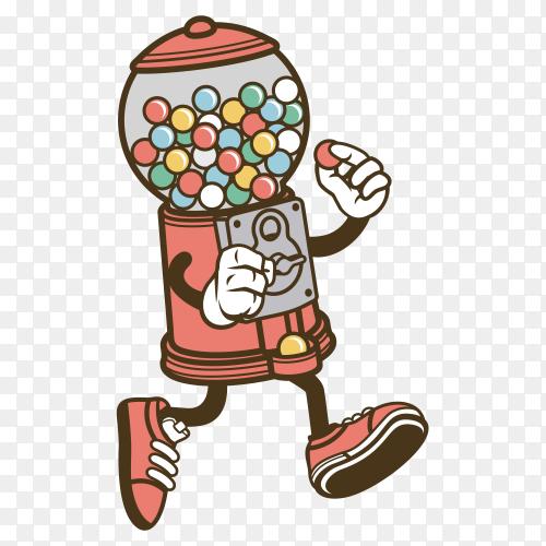 Candy machien vector PNG