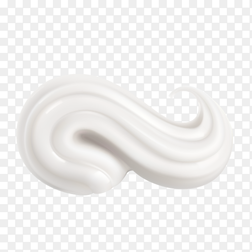 Delicious whipped  cream Clipart PNG