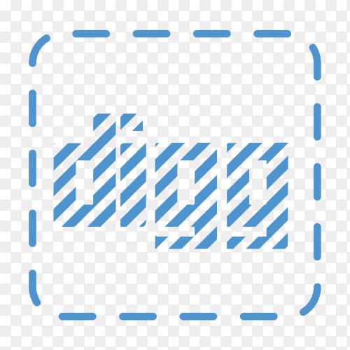 Digg logo on transparent background PNG