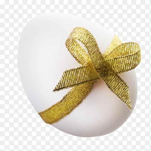 Easter day egg on transparent background PNG