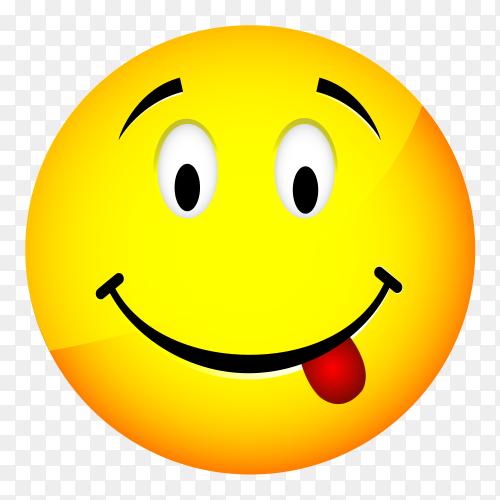 Face Savoring Food emoji vector PNG
