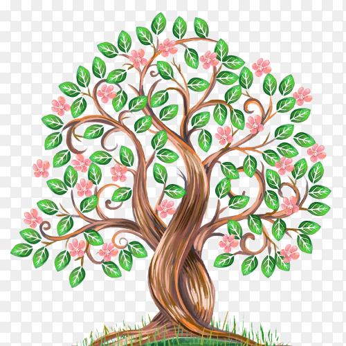 Family Tree Reunion on transparent PNG