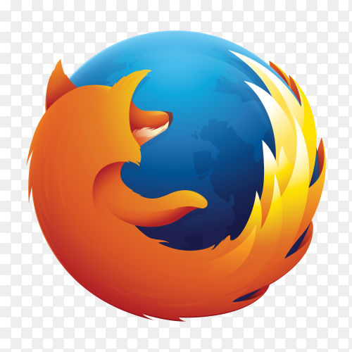 Fire Fox icon logo vector PNG