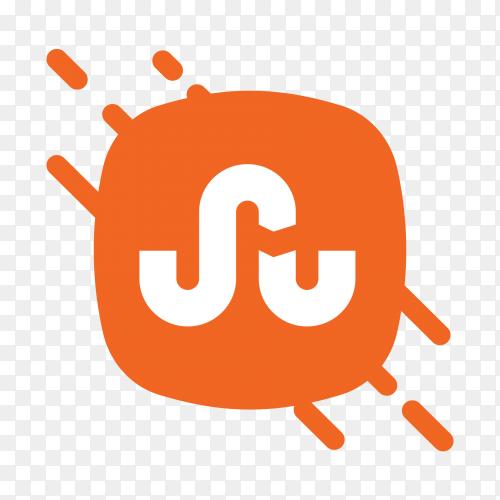 Flat logo StumbleUpon icon vector PNG
