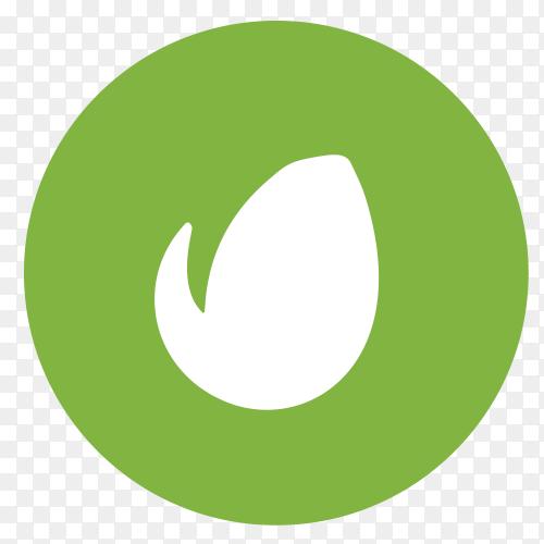 Flat logo envato Clipart PNG