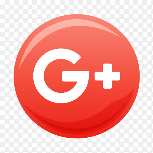 Google Plus free icon vector PNG