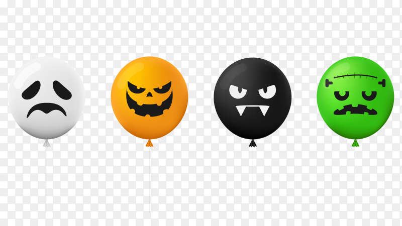 Illustration Happy Halloween Day vector PNG