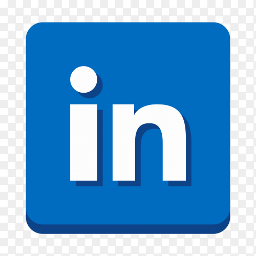 Linkedin logo transparent PNG
