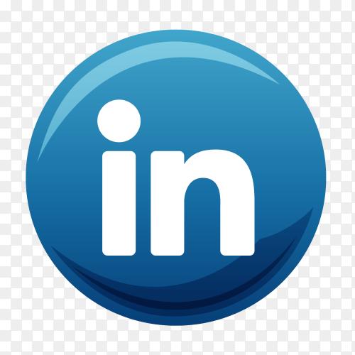 Linkedin logo vector PNG