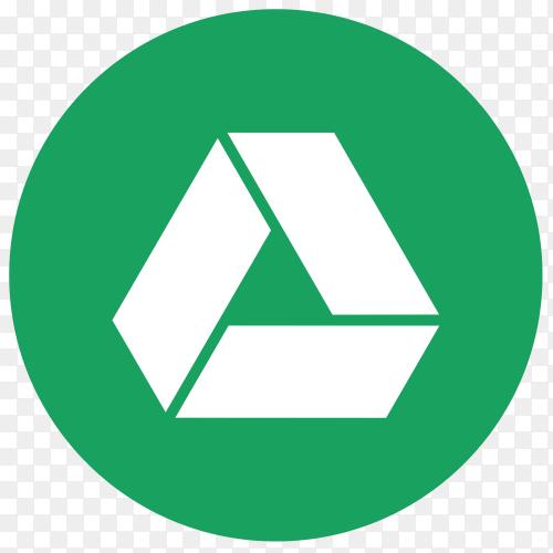 Logo Google Drive icon vector PNG