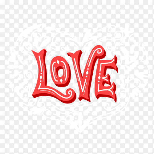 Lovely Frame with Hearts for Valentines Day vector PNG