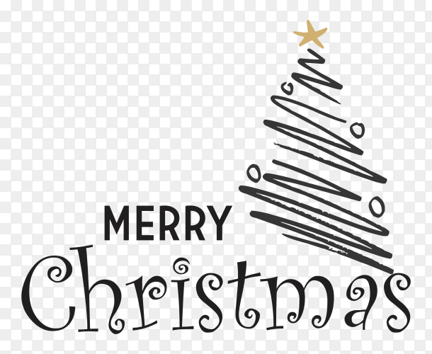 merry christmas text design with christmas tree vector png similar png christmas tree vector png