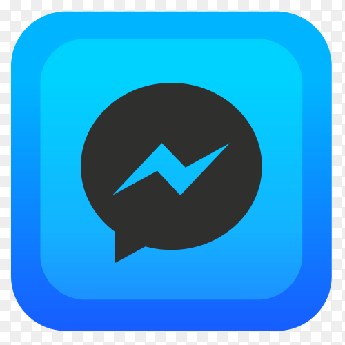 Messenger logo simple Clip art  PNG