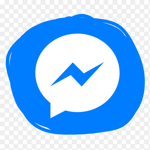 New Messenger icon vector PNG