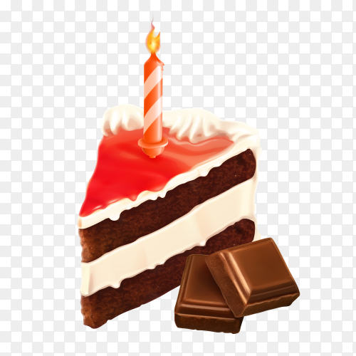 Piece Of Cake on transparent PNG