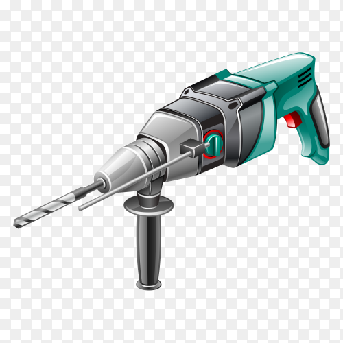 Power Tool Drill Garden Tool with transparent PNG