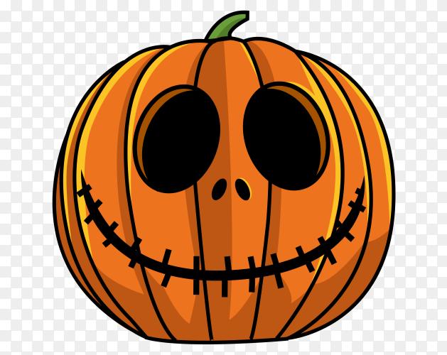 Pumpkin Halloween illustration Clipart PNG