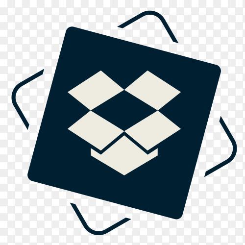 Social media Dropbox icon Clipart PNG