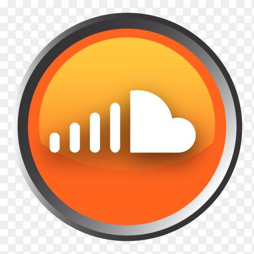 Soundcloud logo button Clip art PNG