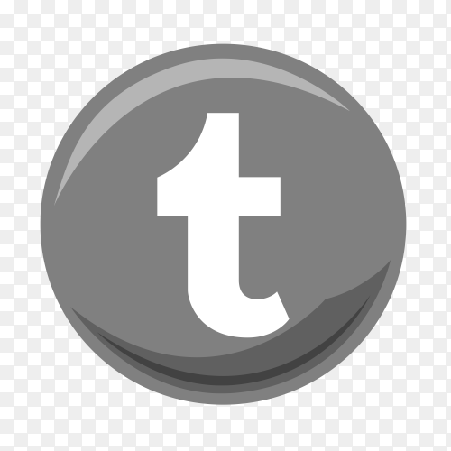Tumblr free icon on transparent PNG